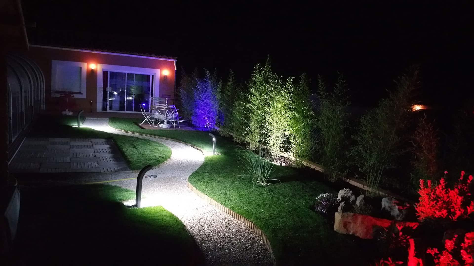 jardin chambre d'hôtes spa de la sainte baume