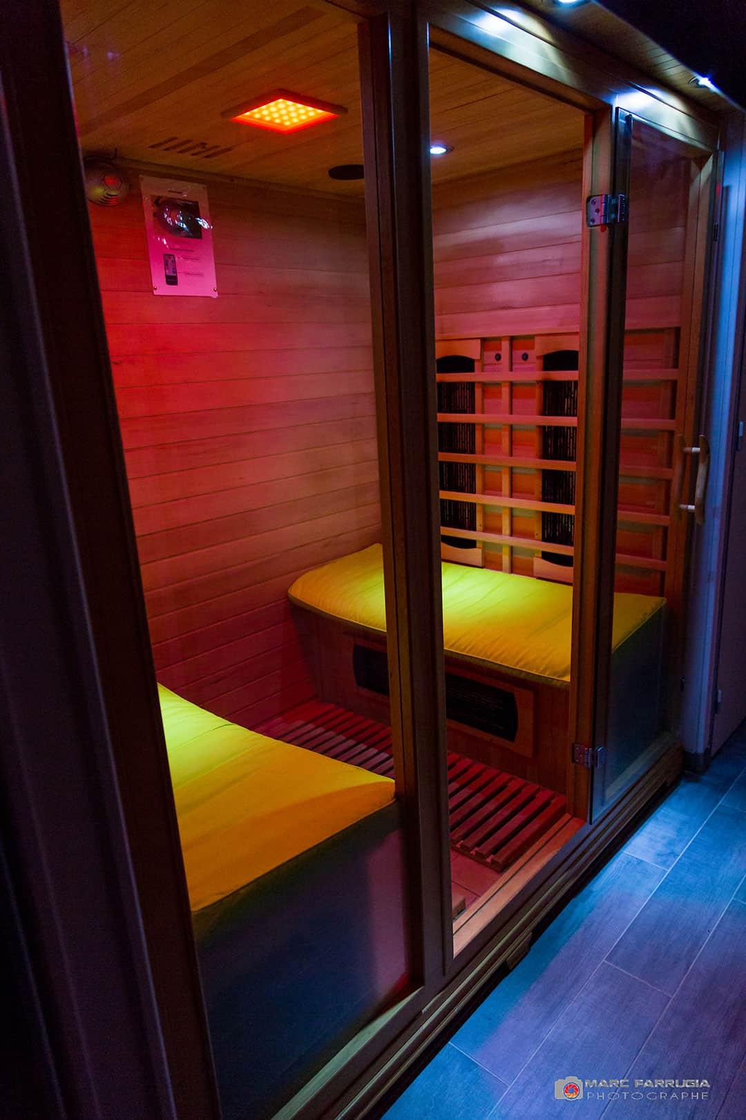 sauna chambre d'hôtes spa de la sainte baume